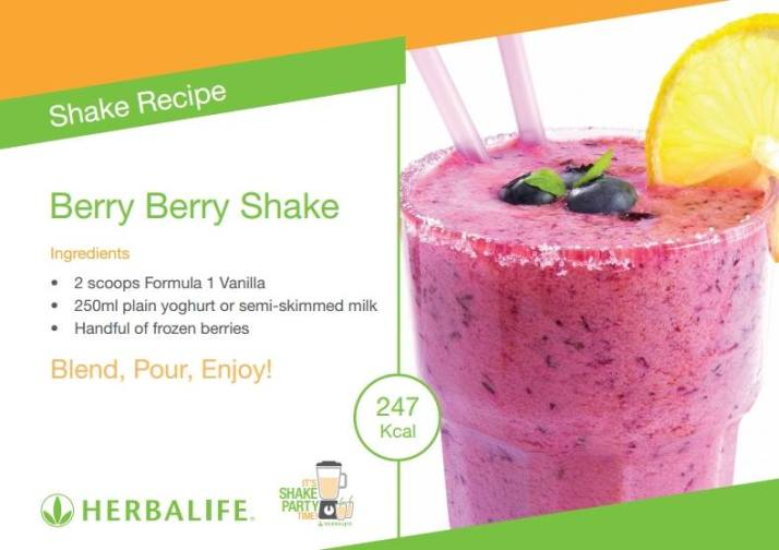 SASA'S RECIPE OF THE DAY: BERRY BERRY SMOOTHIE
