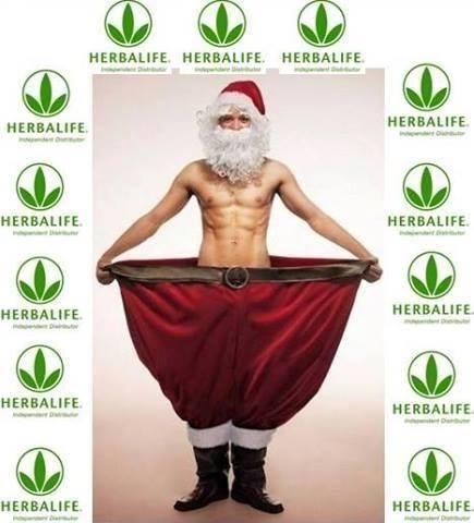 ACHTUNG! Neueste Neuigkeit! Der Weihnachtsmann hat's schon geschafft!...