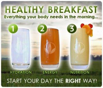 a Breakfast