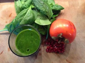 grüner Veggie Shake