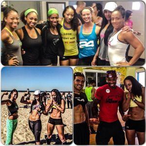 LA Santa Monica Fitclub Team Shannon
