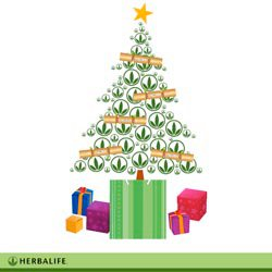 Xmas tree Herbalife