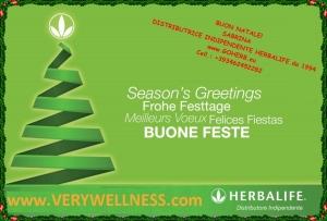 Buone feste Herbalife verywellness1