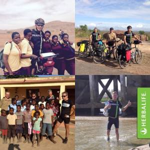 Cycling for Pomery- Africa 2014