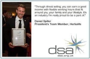 Daniel Spiller, President's Team member, Herbalife