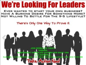 We're looking for leaders1a