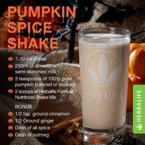 Pumpkin Spice Shake 2015