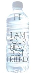 water bottle best friend